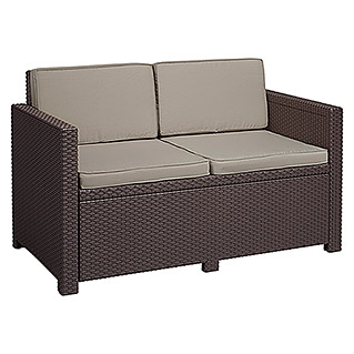 Allibert Loungesofa Monaco (129 cm, Braun)