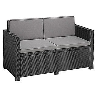Allibert Loungesofa Monaco (129 cm, Anthrazit)