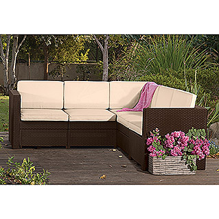 Allibert Loungesofa Provance (Braun)
