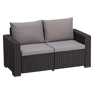 Allibert Lounge Sofa California (141 cm, Polypropylen, Anthrazit)