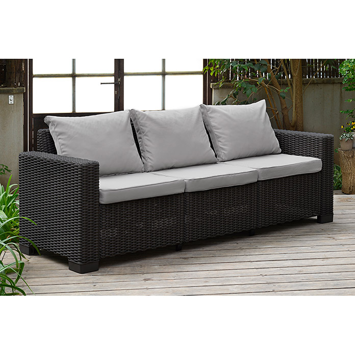 Allibert Loungesofa California (199 cm, Anthrazit)