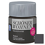 sch ner wohnen wand deckenfarbe trendfarbe tester luna 50 ml matt 5888 readymix farbe. Black Bedroom Furniture Sets. Home Design Ideas