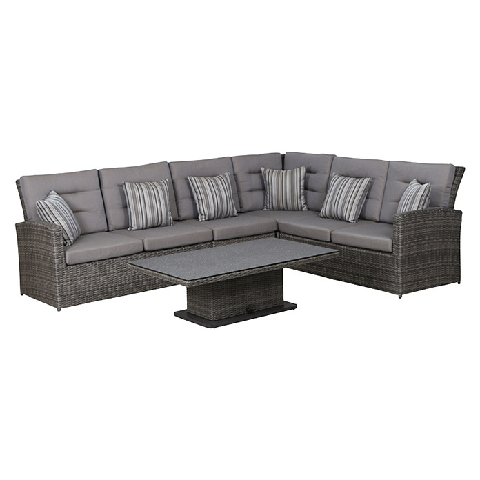 siena garden porto loungem bel set 5 tlg polyrattan. Black Bedroom Furniture Sets. Home Design Ideas