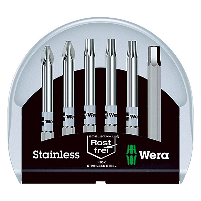 Wera Bit-Set Bit-Check Stainless (6-tlg.)