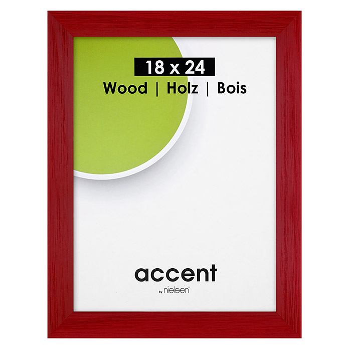 Accent Bilderrahmen Magic (Rot, 18 x 24 cm, Holz)
