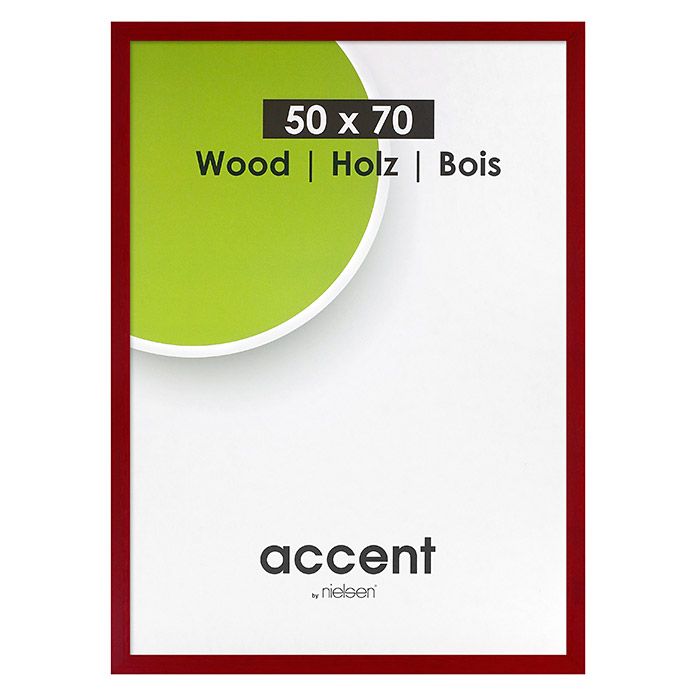 accent bilderrahmen magic rot 50 x 70 cm holz bauhaus. Black Bedroom Furniture Sets. Home Design Ideas