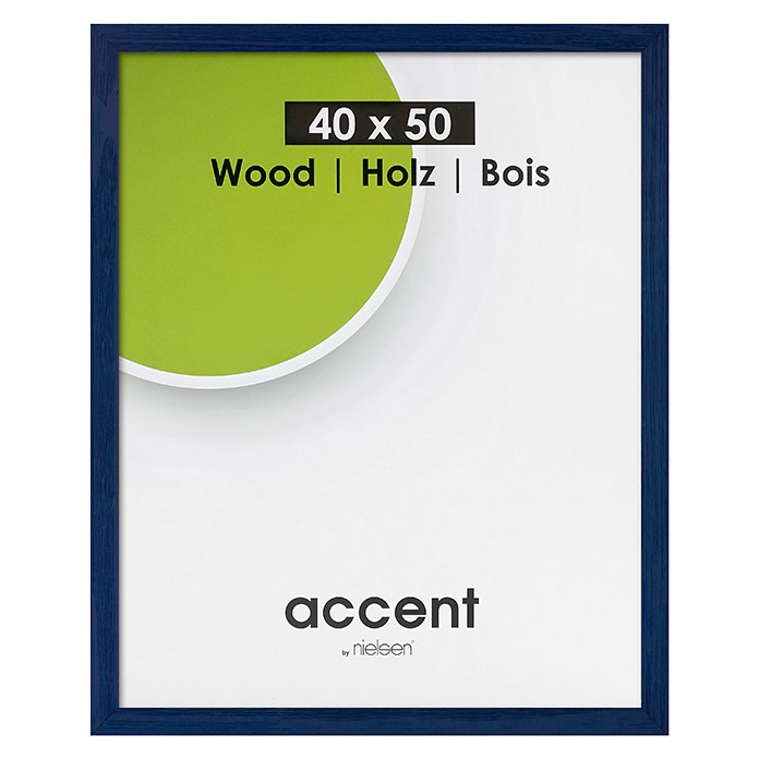 Accent Bilderrahmen Magic (Blau, 40 x 50 cm, Holz)