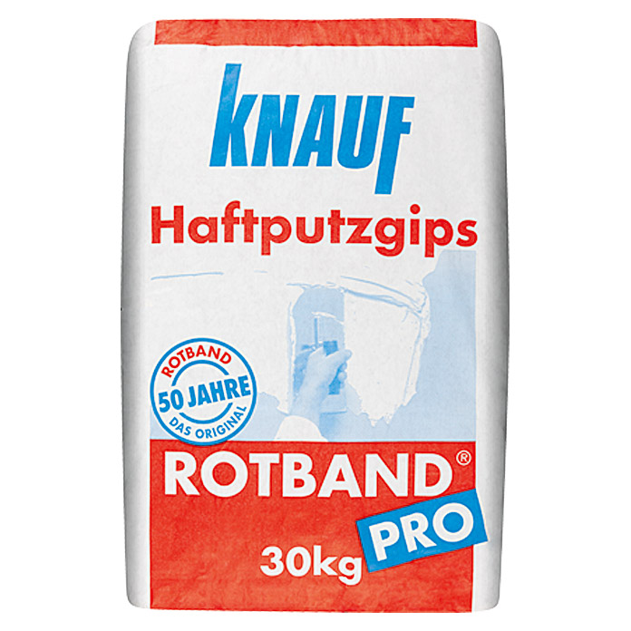knauf rotband haftputzgips pro 30 kg bauhaus. Black Bedroom Furniture Sets. Home Design Ideas