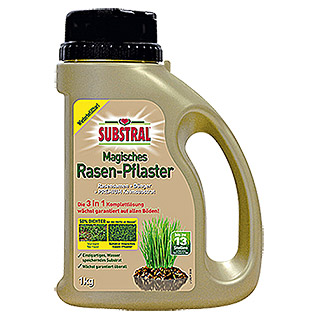 Substral Magisches Rasen-Pflaster 3 in 1 (1 kg)