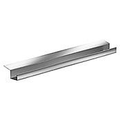 Sarei Piccolo Bakgoot (Nominale breedte: 70 mm, Lengte: 2 m, Aluminium, Naturel)
