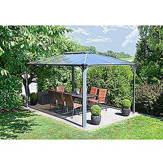 Palram Pavillon Martinique (4,3 x 2,95 x 2,75 m, Anthrazit)