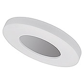 Osram Plafón LED para pared y techo Ring (18 W, 280 mm, Blanco cálido)