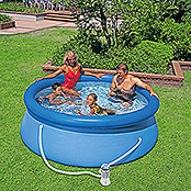 Bestway Easy-Pool-Set (Ø x H: 244 x 66 cm, 2.419 l, Blau)