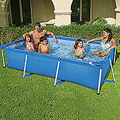 Bestway Piscina Frame-Pool Family I (260 x 160 x 65 cm, 2.282 l)