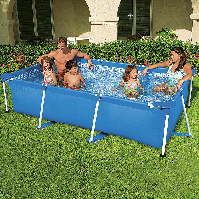 bestway piscina frame pool family i 260 x 160 x 65 cm l 8323 null icia null. Black Bedroom Furniture Sets. Home Design Ideas