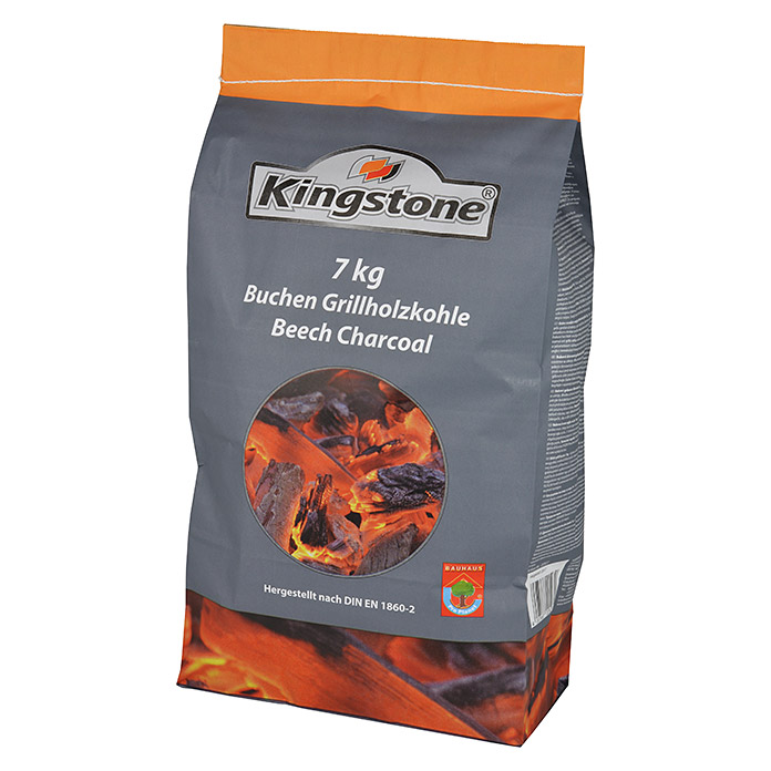 Kingstone Carbón vegetal para barbacoa (7 kg)