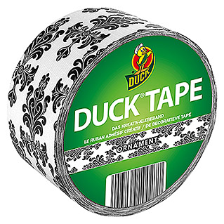 Duck Tape Kreativklebeband Rollen (Ornament, 9,1 m x 48 mm)