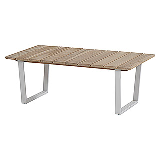 4 Seasons Outdoor Tischplatte Cricket (70 x 120 mm, Holz, Teakbraun)