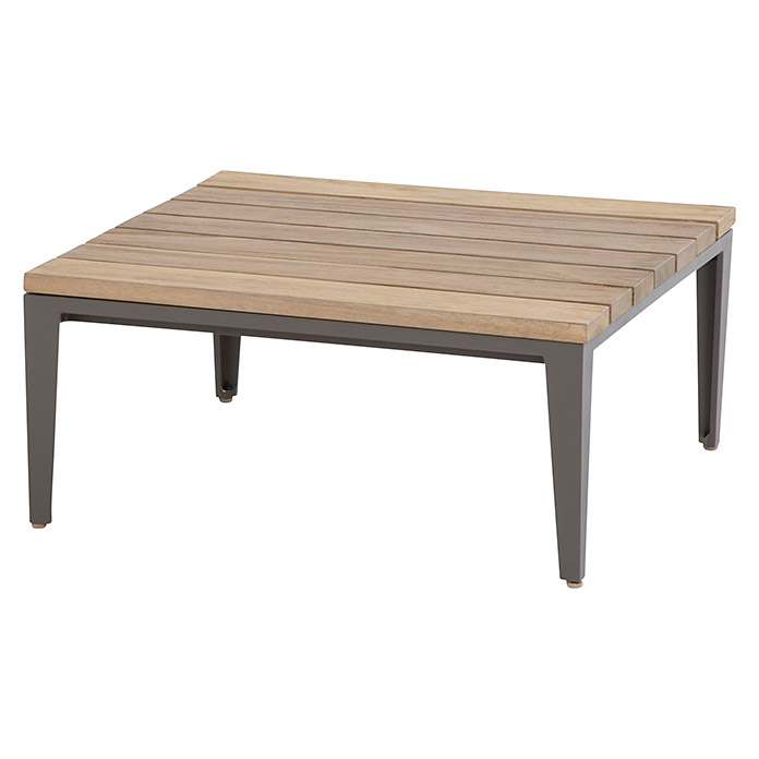 4 seasons outdoor quote couchtisch 71 x 71 cm teak for Bauhaus couchtisch