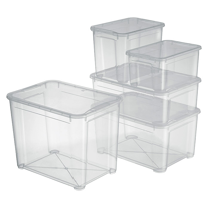 Cool Regalux Clear Box XXL (145 l, Mit Rollen) | BAUHAUS ZL64