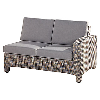 4 Seasons Outdoor Mambo Loungeelement (Taupe, Polyrattan, 95 x 133 x 84 mm, Armlehne links)
