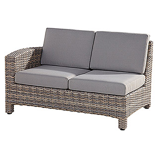 4 Seasons Outdoor Mambo Loungeelement (Taupe, 95 x 133 x 84 cm, Armlehne rechts)