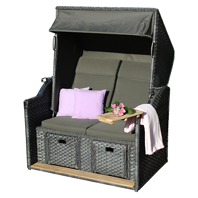 4 seasons outdoor strandkorb beach houseangebot bei bauhaus. Black Bedroom Furniture Sets. Home Design Ideas
