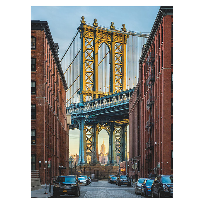 Komar Into Illusions Fototapete Brooklyn (2-tlg., 184 x 248 cm) -