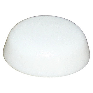 Sarei Afdekkap (Pvc, Wit, Diameter: 11,5 mm, 12 stk.)(Pvc, Wit, Diameter: 11,5 mm, 12 stk.)