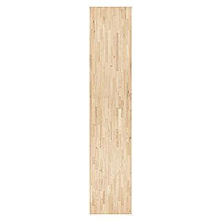 Exclusivholz Massivholzplatte (Rubberwood, 400 cm x 80 cm x 2,6 cm )