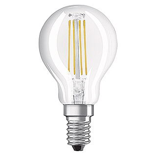 Osram Bombilla LED Retrofit Classic P (1,2 W, E14, Blanco cálido, No regulable, Claro)