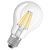 Osram Bombilla LED Retrofit Classic A (7 W, E27, A60, Blanco cálido, Intensidad regulable, Claro)