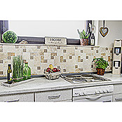 Mosaikfliese Mix Travertine XNT 40602 (30,5 x 30,5 cm, Beige, Matt)