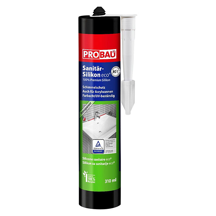 Probau eco Sanitär-Silikon (Manhattan, 310 ml)