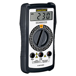 Laserliner Digital-Multimeter (Messbereich Wechselspannung: 200 V - 300 V)