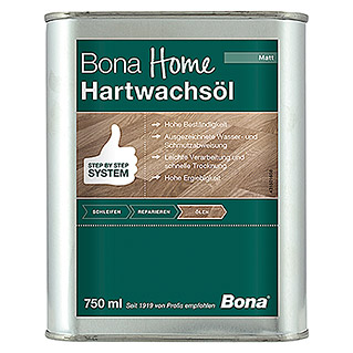 Bona Home Hartwachsöl (Farblos, 750 ml, Matt)