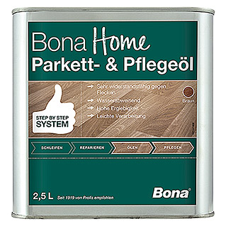 Bona Home Parkett-Pflegeöl (Braun, 2,5 l)