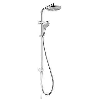 Hansgrohe Überkopfbrause-Set Showerpipe My Select S 220 (Lochabstand: Max. 88 cm, Anzahl Funktionen: 3, Chrom)