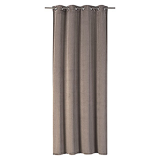 Ösenschal Odeon (140 x 255 cm, 100 % Polyester, Taupe)
