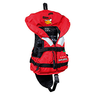 Tahe Outdoors Schwimmweste Angry Birds Nino (15 - 30 kg, Auftrieb: 40 N, Rot)