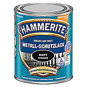 hammerite metall schutzlack schwarz 250 ml matt. Black Bedroom Furniture Sets. Home Design Ideas