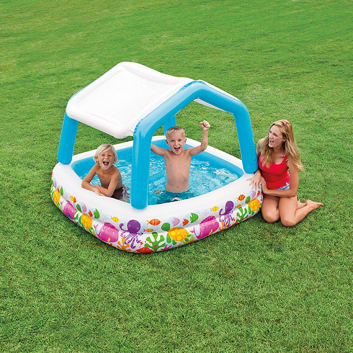 Intex Piscina hinchable Sun Shade (157 x 157 x 122 cm)