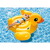 Intex Badetier Mega Yellow Duck Island (221 x 221 x 109 cm)