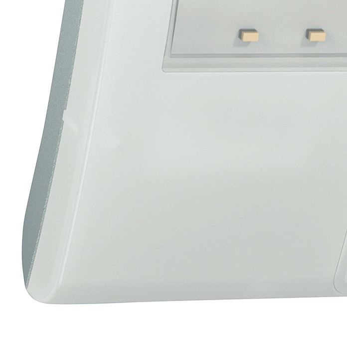 Steinel Proyector LED con sensor XLED Home Curved (Blanco, Potencia: 10,5 W, Blanco neutro)