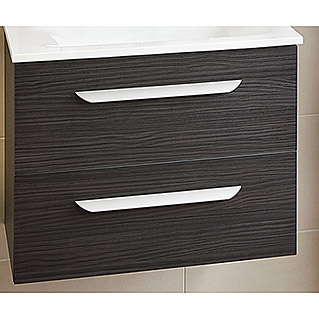 Camargue Flexilight Waschtischunterschrank (40,6 x 79,4 x 48,6 cm, Darkoak, Matt)