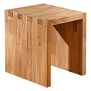 Exclusivholz Aspen Hocker (Eiche, 51 x 48 x 53 cm)