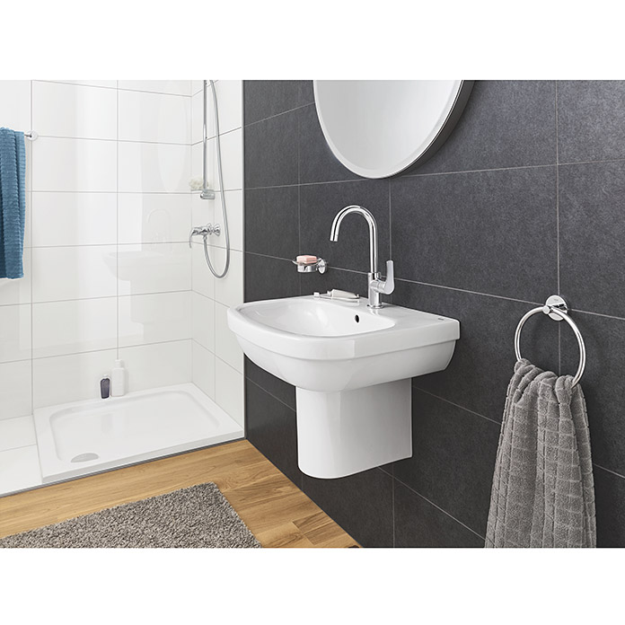 grohe essentials handtuchring chrom gl nzend bauhaus. Black Bedroom Furniture Sets. Home Design Ideas
