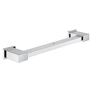 Grohe Essentials Cube Asidero de baño (Ancho: 39,2 cm, Cromo, Brillante)