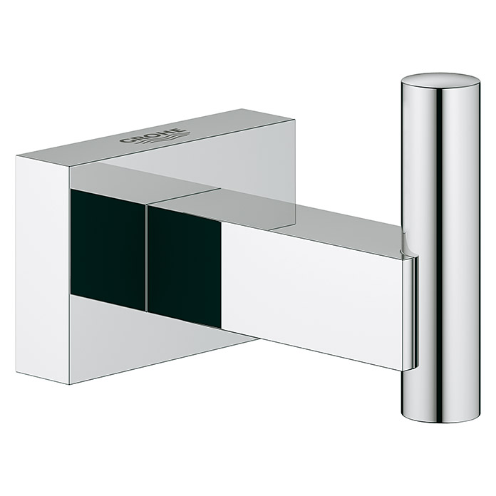 Grohe Essentials Cube Bademantelhaken (Chrom, Glänzend)