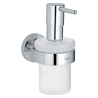 Grohe Essentials Dispensador de jabón (Con soporte, Cromo, Brillante)